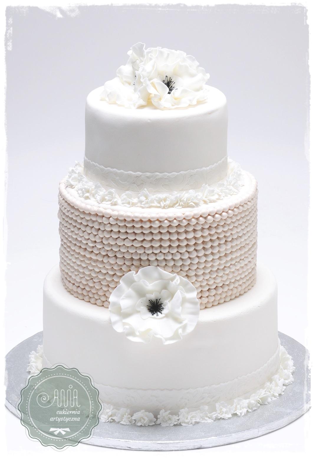 Tort weselny La Perla - zdjęcie 1
