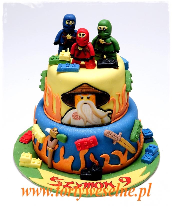 Tort Lego Ninjago - zdjęcie 1