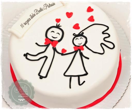 Tort rocznicowy - zdjęcie 1