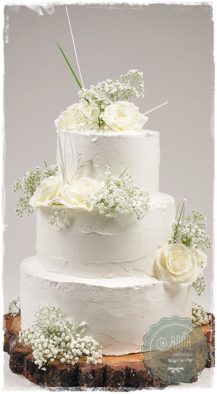 Tort Biały Naked - zdjęcie 1
