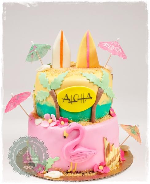 Tort Aloha - zdjęcie 1