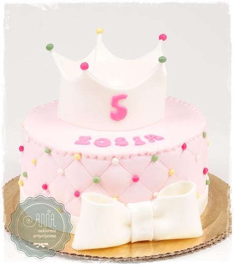 Tort z koroną - zdjęcie 1
