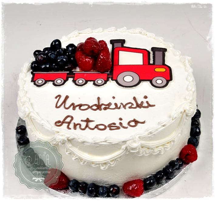 Tort Owocowy Traktor - zdjęcie 1