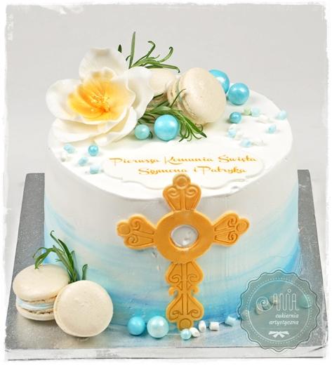 Tort z krzyżem - zdjęcie 1