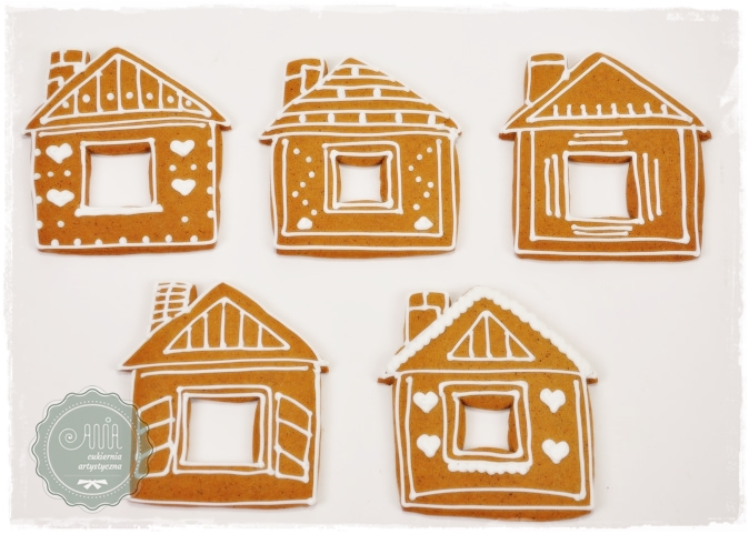 Pierniki domki lukrowane - zdjęcie 1