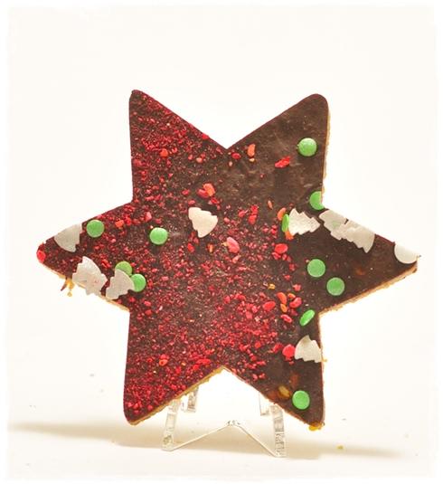 Gwiazdka zbożowa z czekoladą - zdjęcie 1