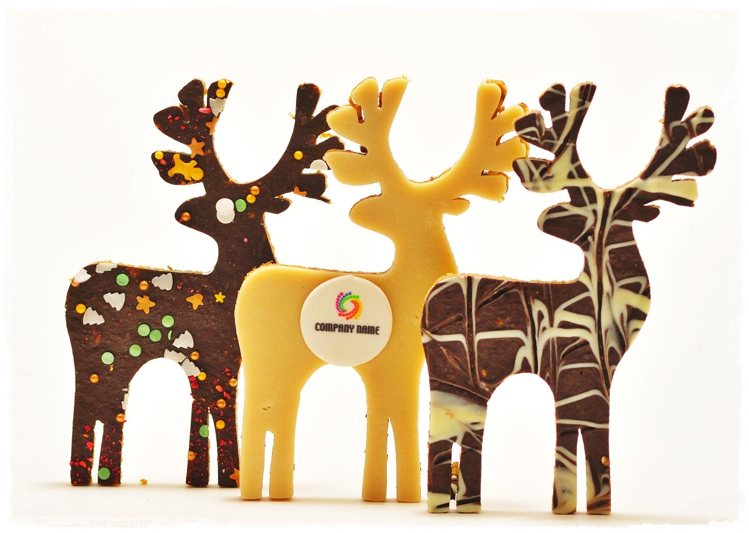 Słodycze reklamowe- renifery zbożowe - zdjęcie 1