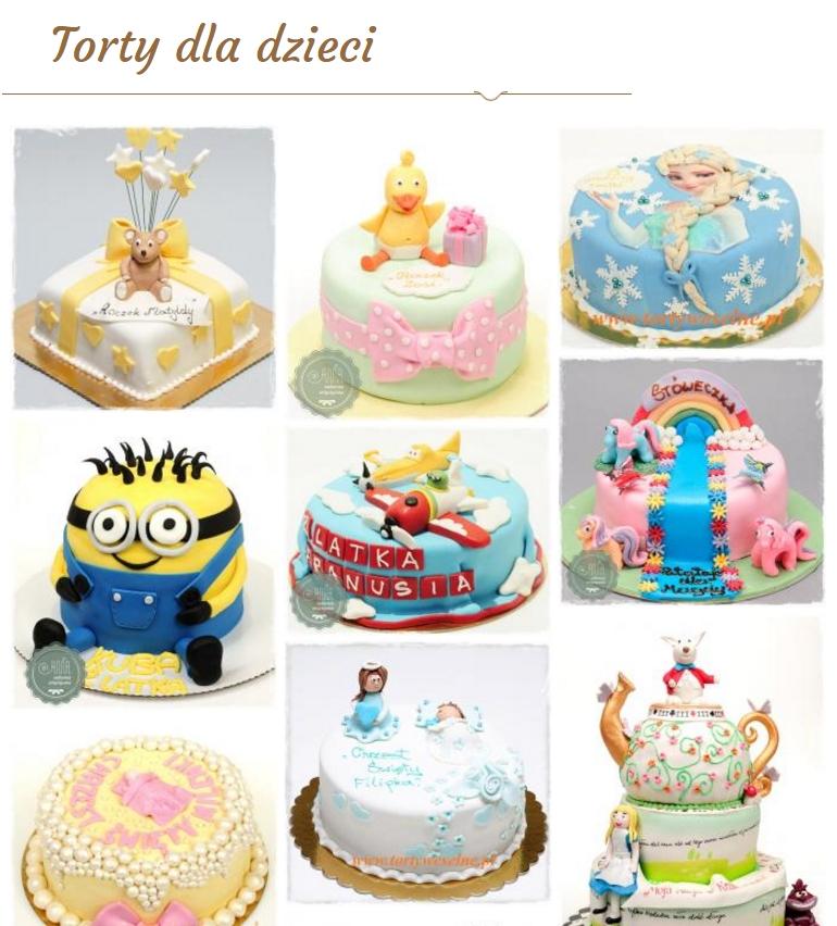 Galeria torty dla dzieci Chorzów